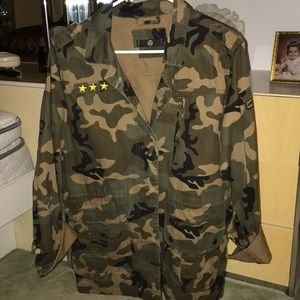 Missguided Camo Jacket